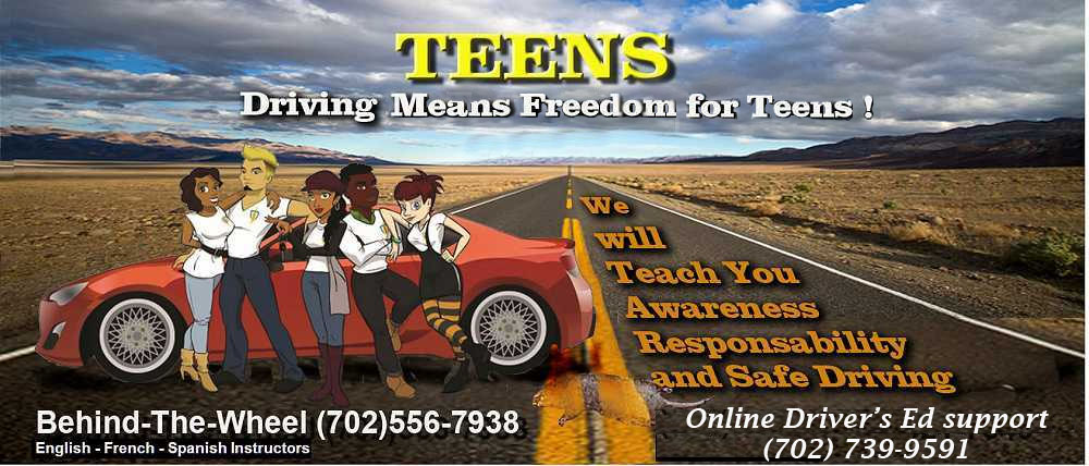 Las vegas nevada DMV online drivers ed for teens